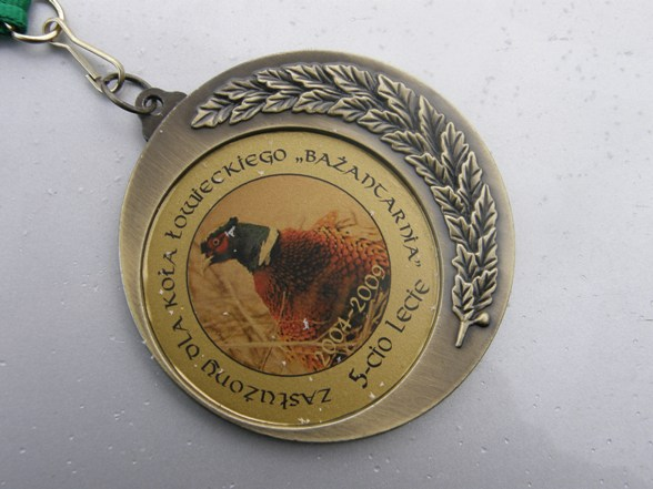 Okolicznościowy medal